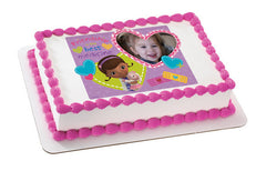 Doc McStuffins Friendship Photo Cake