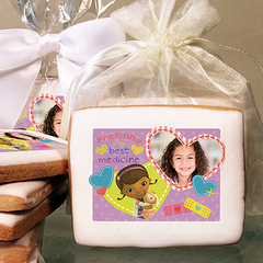 Doc McStuffins Friendship Photo Cookies