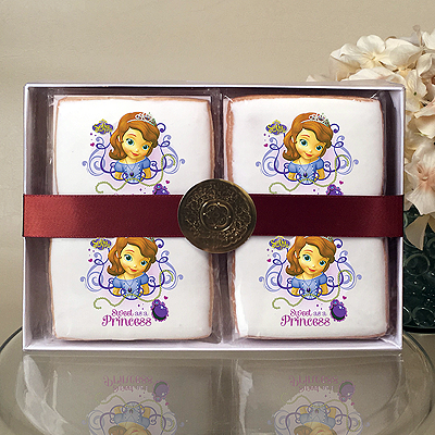 Sofia the First Sweet as a Princess Cookie Gift Box