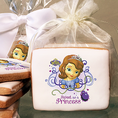Sofia the First Sweet as a Princess Photo Cookies
