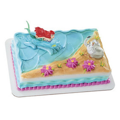 Disney Princess The Little Mermaid Ariel and Scuttle Licensed Toy Cake