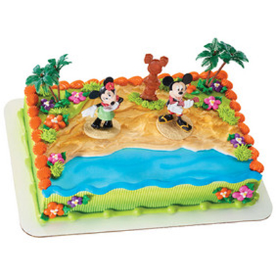 Mickey Mouse & Friends Luau Party Licensed Toy Cake
