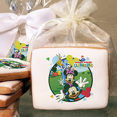 Mickey and Friends Clubhouse Fun Photo Cookies