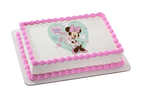 Mickey and Friends Minnie Little One Photo Cake