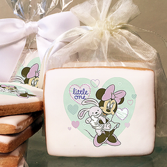 Mickey and Friends Minnie Little One Photo Cookies