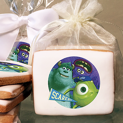 Monsters University Scarers Photo Cookies