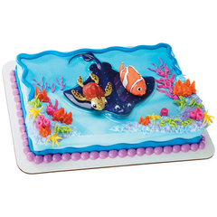 Finding Nemo and Squirt Licensed Toy Cake