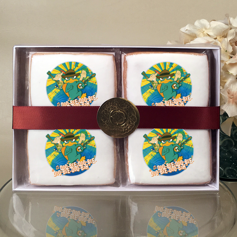 Phineas & Ferb Doo-Bee-Doo-Bah Cookie Gift Box