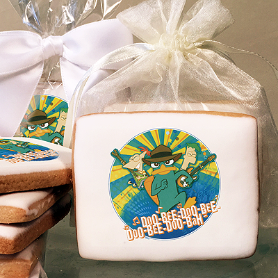Phineas & Ferb Doo-Bee-Doo-Bah Photo Cookies