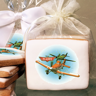 Planes Flying High Photo Cookies