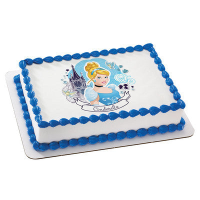 Disney Princess Cinderella Full of Dreams  Photo Cake