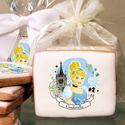 Disney Princess Cinderella Full of Dreams  Photo Cookies
