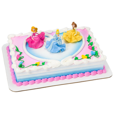 Disney Princess Once Upon a Moment Toy Cake