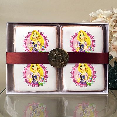 Disney Princess Rapunzel Cookie Gift Box