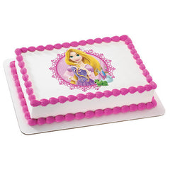 Disney Princess Rapunzel Photo Cake