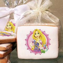 Disney Princess Rapunzel Photo Cookies