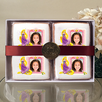 Disney Princess Rapunzel & Crown Cookie Gift Box