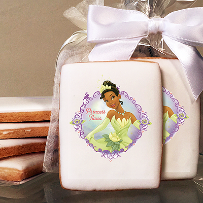 Princess & the Frog Tiana Photo Cookies