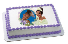 Princess & the Frog Tiana Dreaming Photo Cake