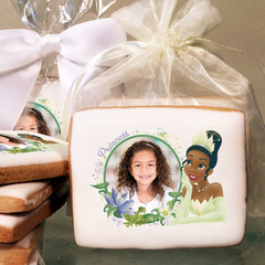 Princess & the Frog Tiana Dreaming Photo Cookies