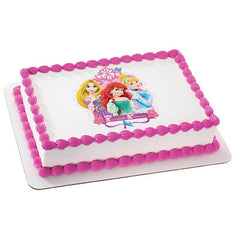 Disney Princess Fairytale Princess Photo Cake