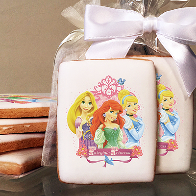 Disney Princess Fairytale Princess Photo Cookies