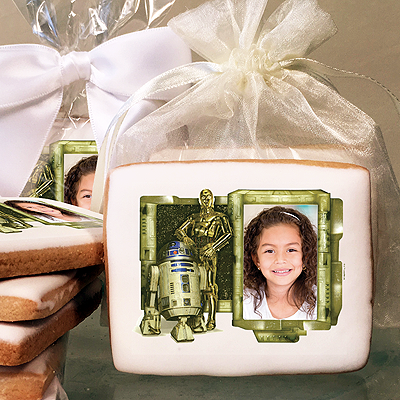 Star Wars R2D2 And C3PO Photo Cookies