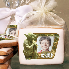 Star Wars Yoda Photo Cookies