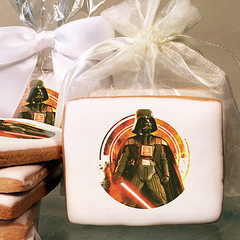 Star Wars Darth Vader Photo Cookies