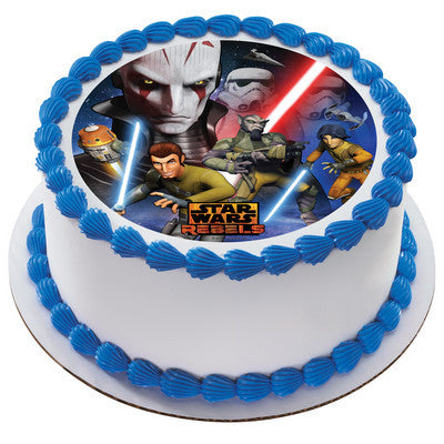 Star Wars Rebels Inquistion Photo Cake