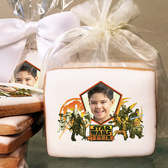 Star Wars Rebels Dueling Forces Photo Cookies