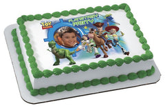 Toy Story 3 Planetary Party Photo Cake