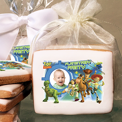 Toy Story 3 Planetary Party Photo Cookies