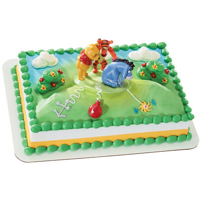 Winnie the Pooh New Tail for Eeyore  Licensed Toy Cake