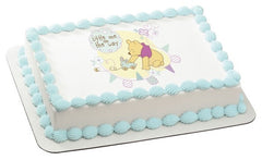 Winnie The Pooh Little One On The Way Photo Cake