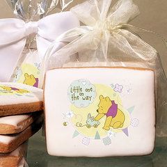 Winnie The Pooh Little One On The Way Photo Cookies