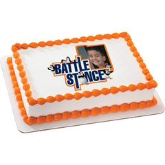 Penguins of Madagascar Battle Stance  Photo Cake