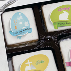 Easter Egg Religious Blessings Cookie Gift Box