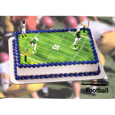 Football Field Toy Cake