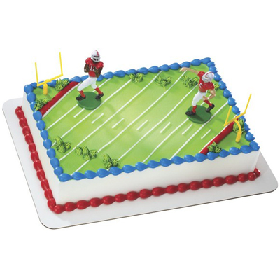 Touchdown Football Toy Cake