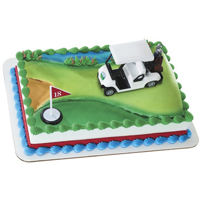 Golf Cart Toy Cake