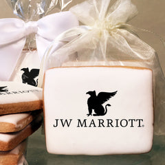 JW Marriott Logo Cookies