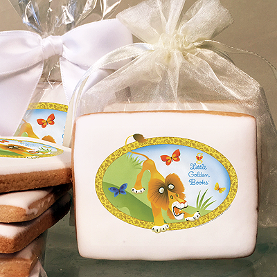 The Tawny Scrawny Lion Photo Cookies