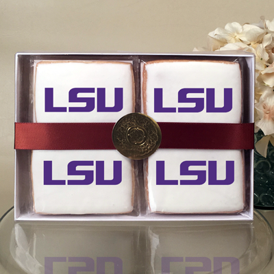 Louisiana State University Collegiate  Cookie Gift Box