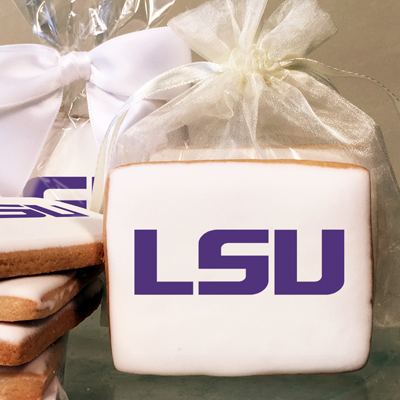 Louisiana State University Collegiate  Photo Cookies