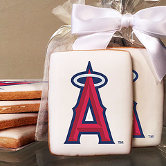MLB Anahiem Angels Photo Cookies