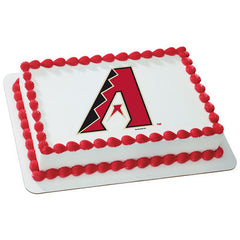 MLB Arizona Diamondbacks Photo Cake