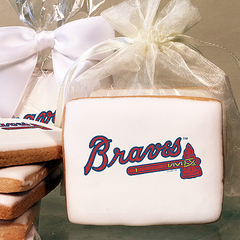 MLB Atlanta Braves Photo Cookies