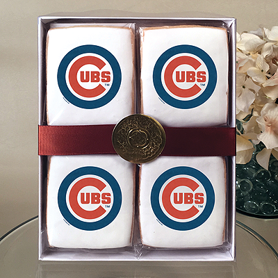 MLB Chicago Cubs Cookie Gift Box
