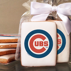 MLB Chicago Cubs Photo Cookies